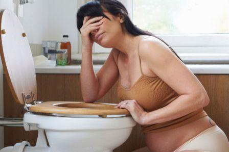 Gravid og kvalm